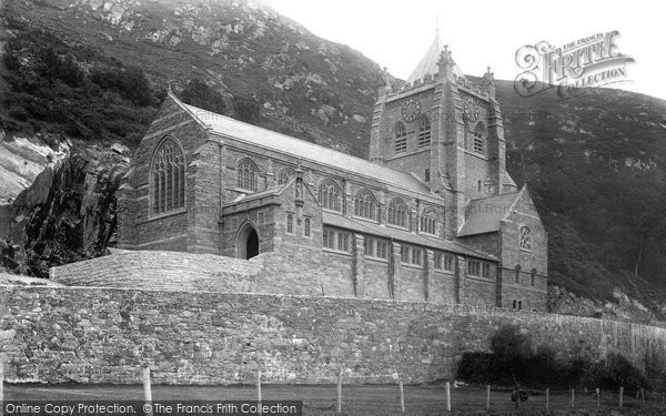 Barmouth, The Church 1895