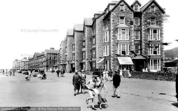 Barmouth, The Promenade 1933