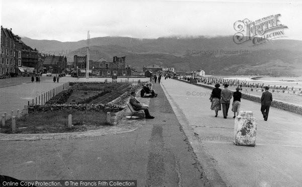 Barmouth, The Promenade c.1955