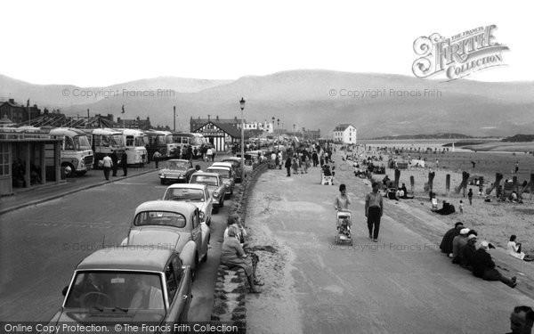 Barmouth, The Promenade c.1965