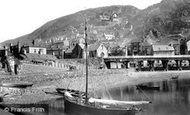 Barmouth, The Quay 1889