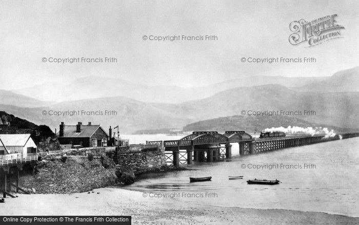 Barmouth, The Railway Bridge 1908