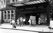 Barmouth, WH Smith & Son, High Street c1965