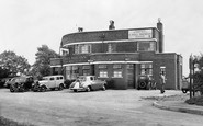 Barmston, the Black Bull Inn c1955