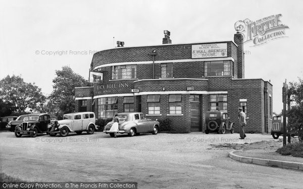 Photo of Barmston, the Black Bull Inn c1955