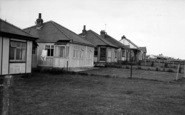 Barmston, The Bungalows, South Cliff c.1955