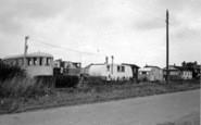Barmston, The Caravan Camp c.1955