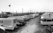 Barmston, The Caravan Site c.1960
