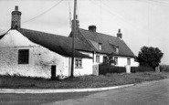 Barmston, The Cottages c.1955