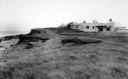 Barmston, The North Cliff Bungalows c.1955