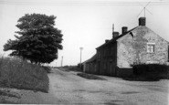 Barmston, The Post Office And Cliff Road c.1960