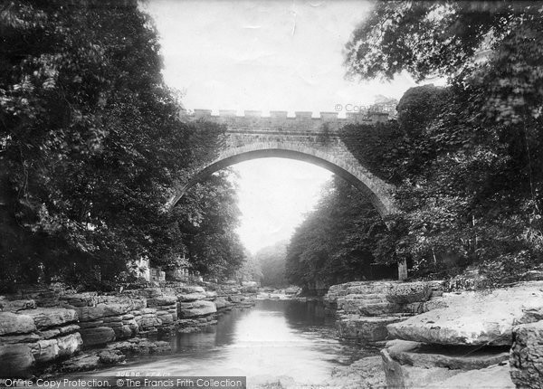 Barnard Castle, Abbey Bridge 1892