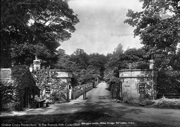Barnard Castle, Abbey Bridge, Toll Gates 1903
