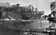 Barnard Castle, And River Tees c.1959
