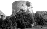 Barnard Castle, Baliol Tower 1890