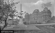 Barnard Castle, Bowes Museum And War Memorial 1929