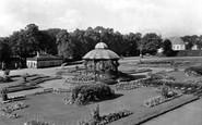 Barnard Castle, Bowes Museum Gardens 1929