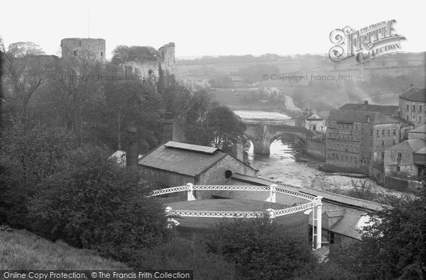 Barnard Castle, Castle Bridge c.1930