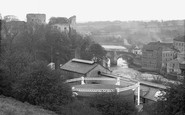 Barnard Castle, Castle Bridge c.1930