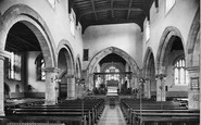 Barnard Castle, Church Interior 1914