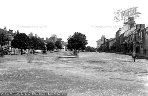 Barnard Castle, Galgate East 1892
