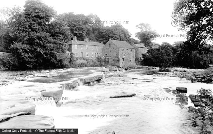 Photo of Barnard Castle, Main Mill 1914