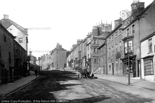 Barnard Castle, The Bank 1892