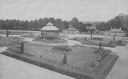 Barnard Castle, The Bowes Museum, The Gardens 1914