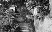 Barnard Castle, The Steps, Moss's Leap 1914