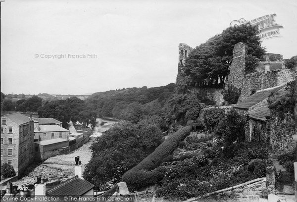 Barnard Castle, View From Castle Cottage 1914