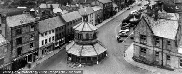 Barnard Castle, View From Church Tower c.1960