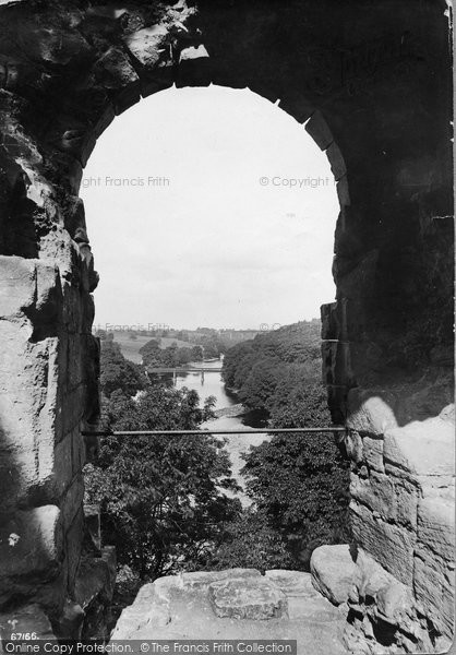 Barnard Castle, View From The Castle 1914