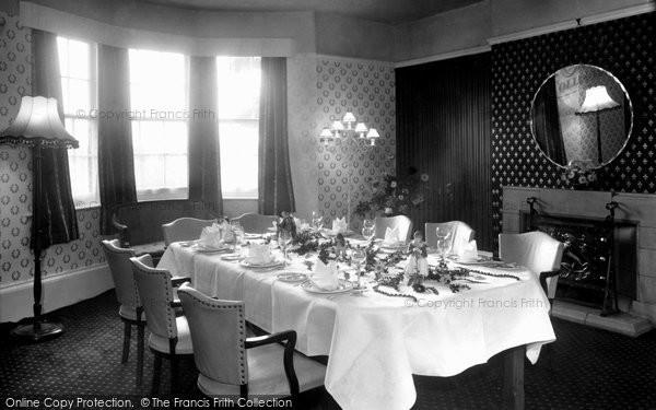 Barnby Moor, The Regency Room, Ye Olde Bell Hotel c.1955