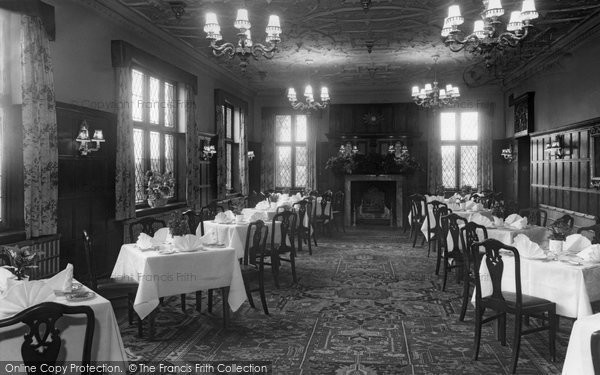 Barnby Moor, The Wiseton Room, Ye Olde Bell Hotel c.1955