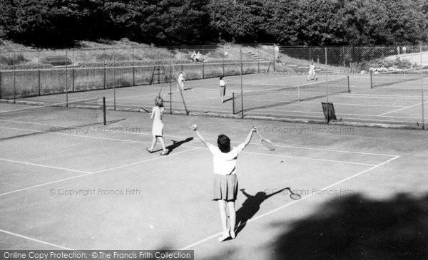 Barnehurst, Tennis Courts c.1955