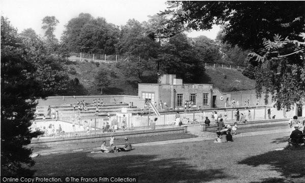 Barnehurst, The Lido, Martens Grove c.1960