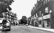 Barnes, Church Road 1964