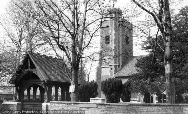 Barnes, St Mary's Church c.1965