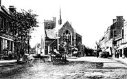 Barnet, Barnet Hill c.1900