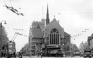 Barnet, Church Of St John The Baptist c.1955