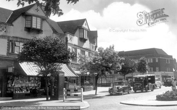 Barnet, Greenhill Parade c.1955