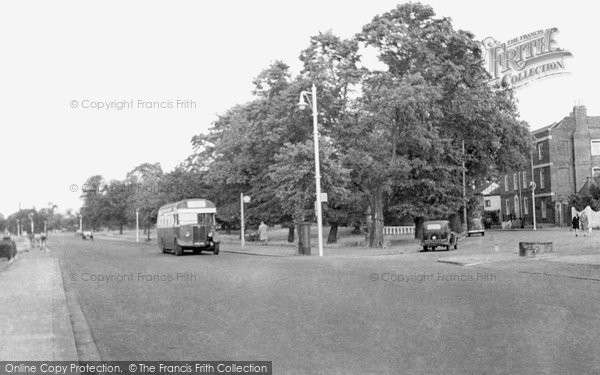 Barnet, Hadley Green Road And Great North Road c.1955