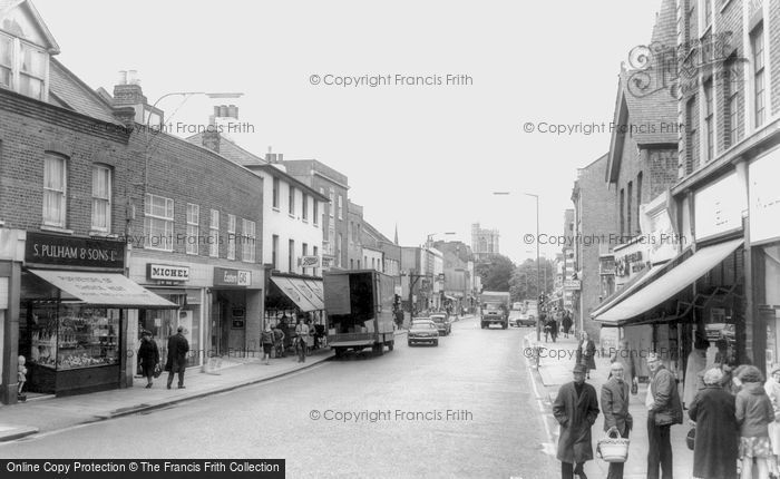 Photo of Barnet, High Street c1965