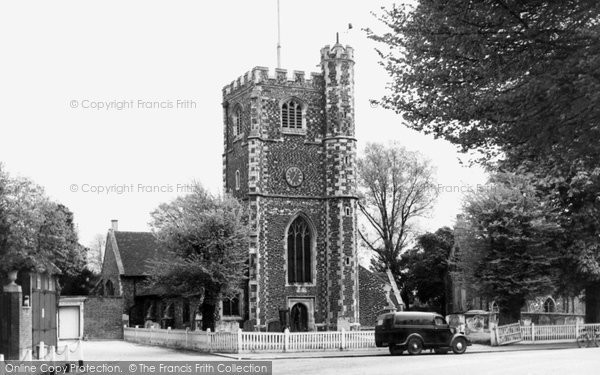 Barnet, Monken Hadley Church c.1955