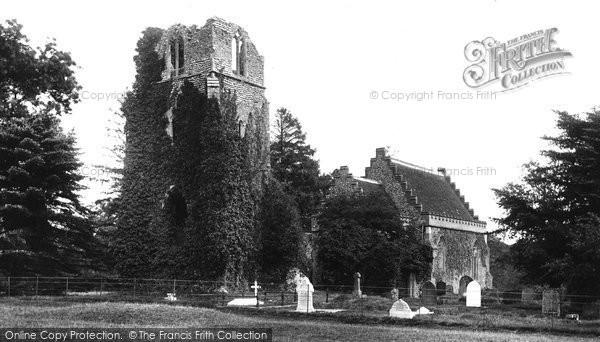 Barningham Hall, The Church 1922