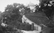 Barnoldswick, Entrance To Recreation Ground c.1930
