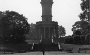 Barnsley, Locke Park, The Tower c.1955