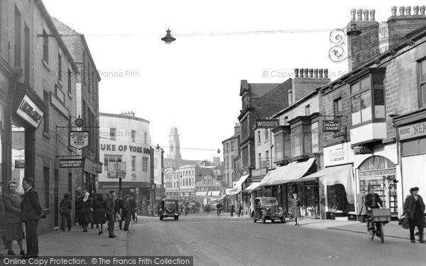 Barnsley, Sheffield Road c.1950