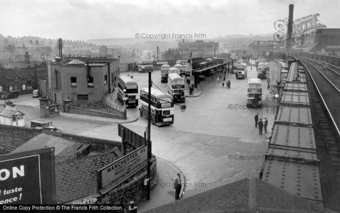 Photo of Barnsley, the Bus Station 1955