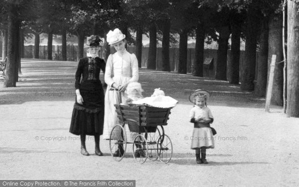Barnstaple, A Family Outing 1890